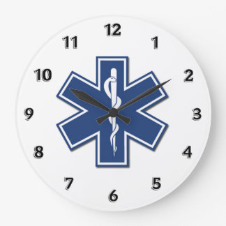 EMS Gifts Large Clock