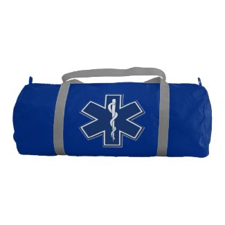 Paramedic Star of Life Tote Bag for medics on the go! Matching paramedic t-shirts and sweatshirts, mousepads and gift mugs also available! Click here to see our paramedic line of tote bags........