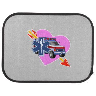 EMS Heart of Care Car Mat