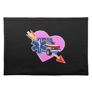 EMS Heart of Care Cloth Placemat