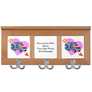 EMS Heart of Care Coat Rack
