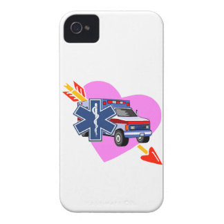 EMS Heart of Care iPhone 4 Case