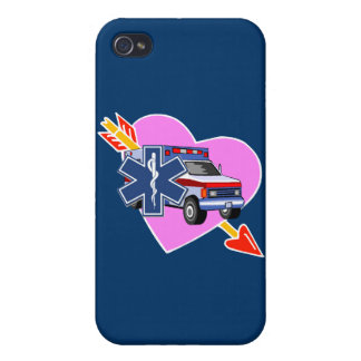 EMS Heart of Care iPhone 4 Cover
