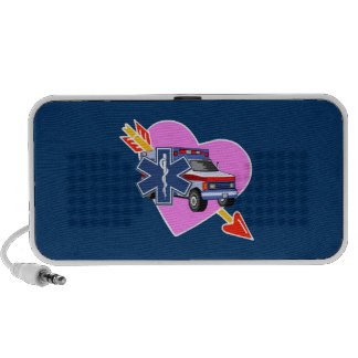 EMS Heart of Care iPod Speakers