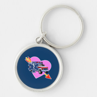 EMS Heart of Care Keychain