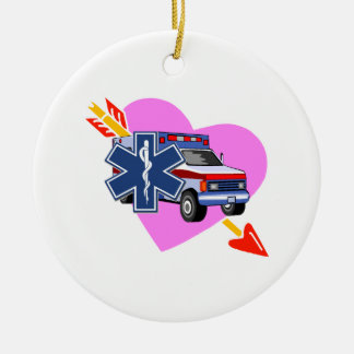 EMS Heart of Care Christmas Ornament