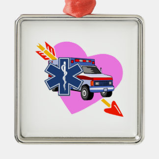 EMS Heart of Care Christmas Ornaments