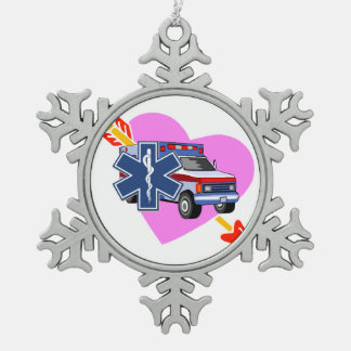 EMS Heart of Care Ornament