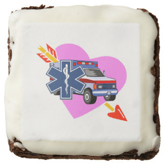 EMS Heart of Care Square Brownie