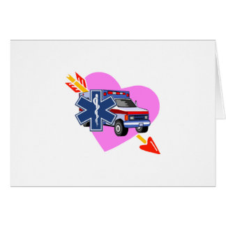 EMS Heart of Care Stationery Note Card