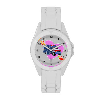 EMS Heart of Care Wristwatch