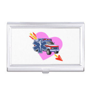 Ems business card holders cases zazzle ems hearts of care case for business cards colourmoves Image collections