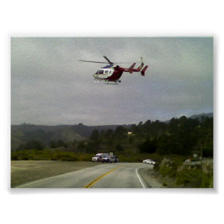 EMS Helicopter Print