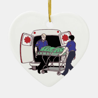 EMS Making a Difference Every Day Ceramic Ornament