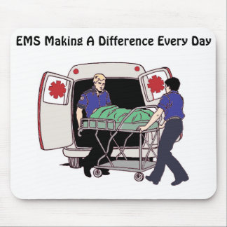 EMS Making a Difference Every Day Mouse Pad