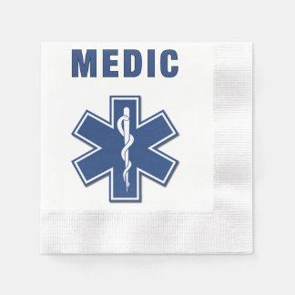 EMS Medic Paper Napkin