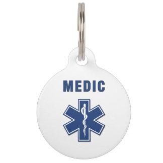 EMS Medic Pet ID Tag