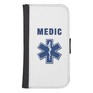 EMS Medic Wallet Phone Case For Samsung Galaxy S4