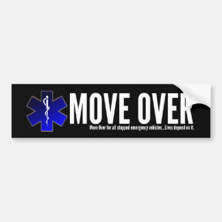 EMS Move Over Bumper Sticker