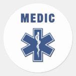 EMS ParaMedic Star of Life Sticker