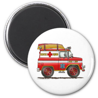 EMS Rescue Van Ambulance Fire Truck Magnets