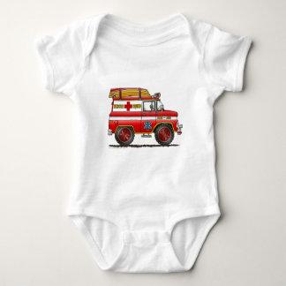 EMS Rescue Van Ambulance Fire Truck Tee Shirt