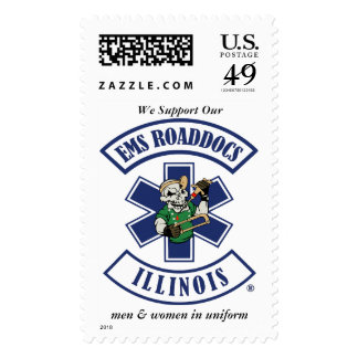 EMS Road Docs of Illinois Postage Stamp