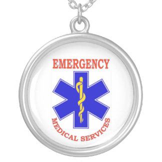 EMS ROUND PENDANT NECKLACE