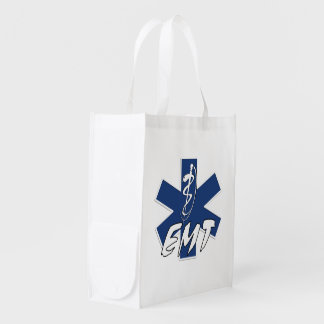 EMS Star of Life Active Reusable Grocery Bags
