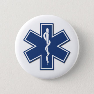 EMS Star of Life Button