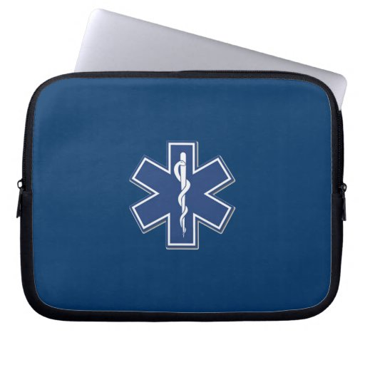 EMS Star of Life Computer Sleeves