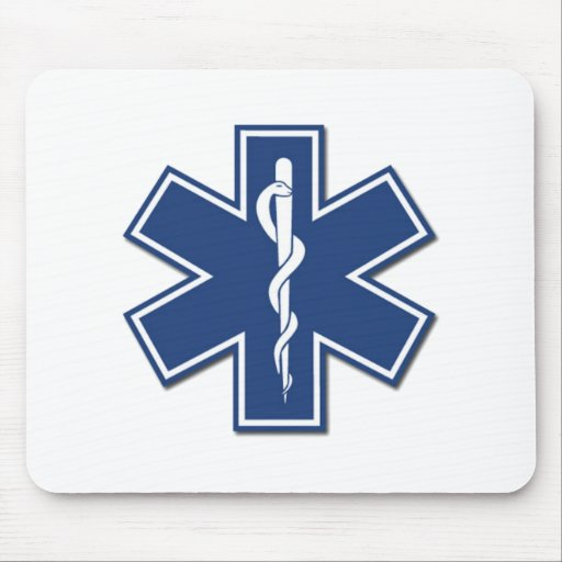 EMS Star of Life Mouse Pad