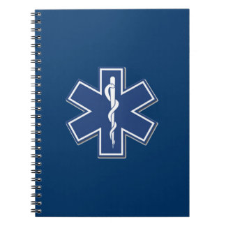 EMS Star of Life Note Books