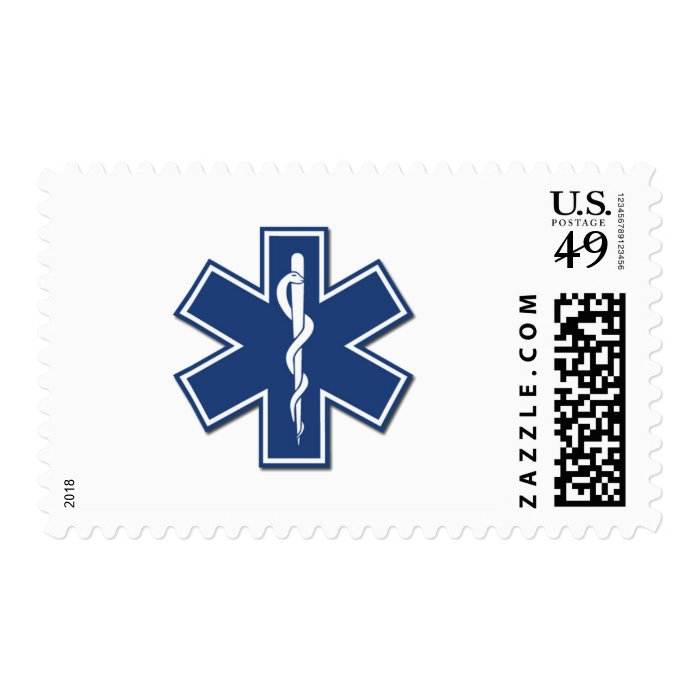 EMS Star of Life Postage