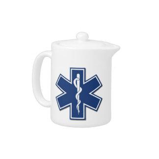 EMS Star of Life Teapot