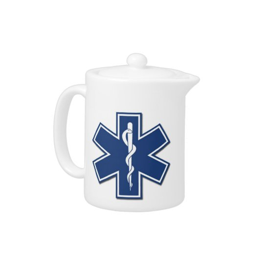 EMS Star of Life Teapot