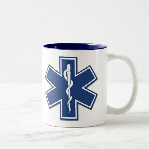 EMS Star of Life Two-Tone Coffee Mug