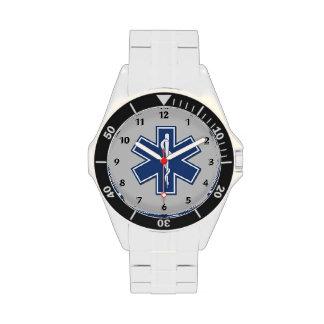 EMS Star of Life Wrist Watch