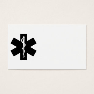 Volunteer emt business cards templates zazzle ems stars business card colourmoves Image collections
