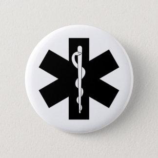 EMS Stars Pinback Button