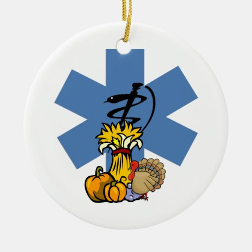 EMS Thanksgiving Ornament