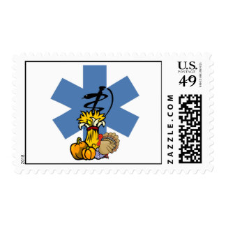 EMS Thanksgiving Postage