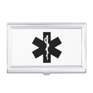 EMS Business Card Cases For EMT and Paramedics