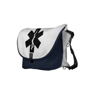 EMS Theme Messenger Bag