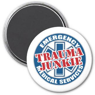 EMS Trauma Junkie Magnet