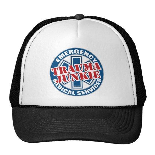 EMS Trauma Junkie Trucker Hat