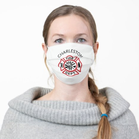 EMS, Volunteer Rescue Squads, Reusable Adult Cloth Face Mask