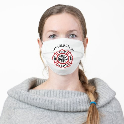 EMS Volunteer Rescue Squads Reusable Cloth Face Mask