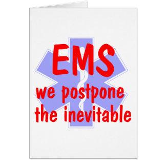EMS-We Postone the Inevitable (Star) Card