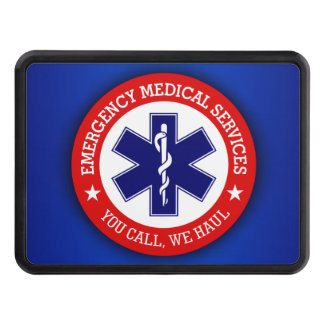 EMS (You Call, We Haul) Hitch Cover